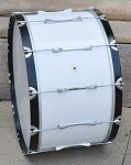 Ludwig 1677-W 16x30 Concert Bass Drum