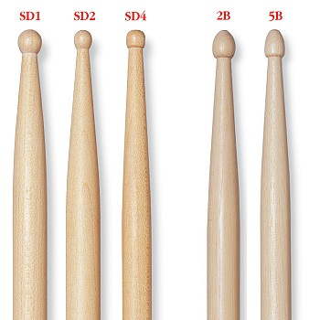 vic firth concert drumsticks products taylor music. Black Bedroom Furniture Sets. Home Design Ideas
