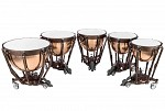 Ludwig 2019 Grand Symphonic Hammered Copper Timpani