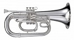 Adams ME1 Marching Euphonium