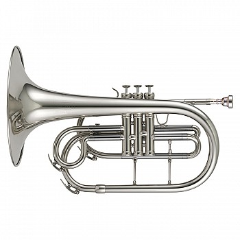 Adams MM1S Marching Mellophone, Slv