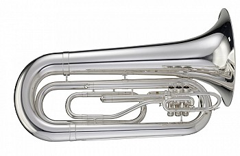 Adams MTB2S Marching Tuba w/Case, Slv