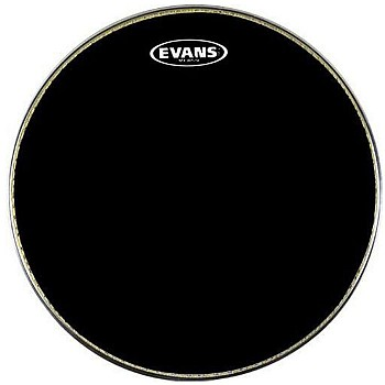 Evans MX1 Black Marching Bass Drum Heads