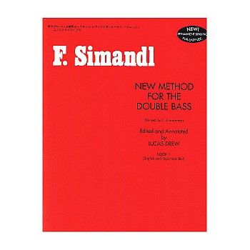 F. Simandl New Method String Bass Method Books