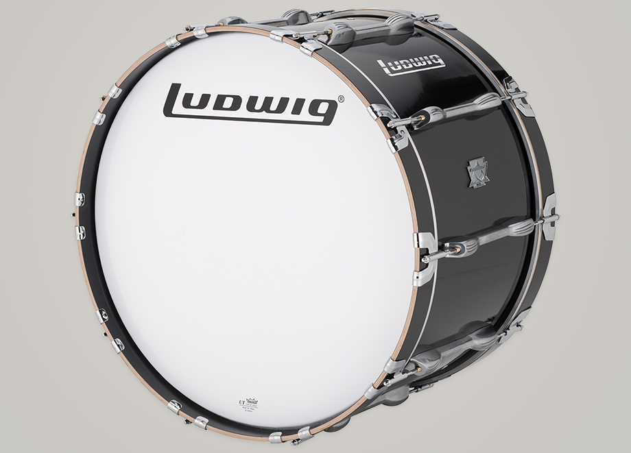 ludwig lumb18p marching bass drum products taylor music. Black Bedroom Furniture Sets. Home Design Ideas