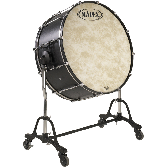 Majestic Concert Series Bass Drums W Stand