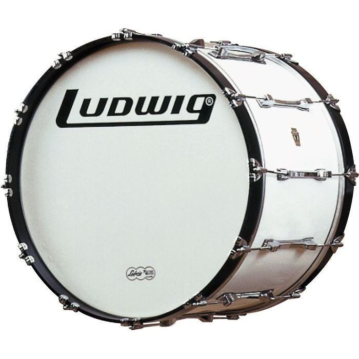 ludwig challenger series marching bass drums products taylor music. Black Bedroom Furniture Sets. Home Design Ideas