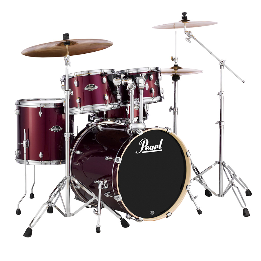 pearl exx export drum set w hardware products taylor music. Black Bedroom Furniture Sets. Home Design Ideas